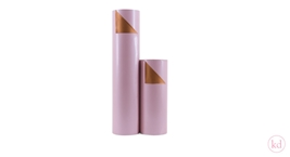 Kadopapier Duo Light Pink / Koper