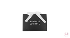 Luxury Envelope + Giftvoucher Black / White