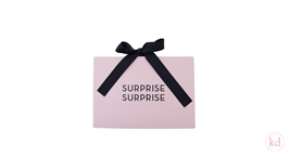 Luxury Envelope + Giftvoucher Soft Pink / Black