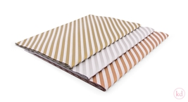 Tissue Paper Diagonal Stripes