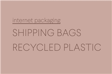 Shipping Bags Recycled Plastic