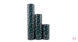 Wrapping paper Nanami Whale Dark Blue