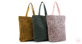 Cotton Bag Leopard Colours