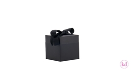 Pop Up Box Medium Black