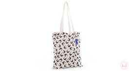Cotton roll-bag Whale Nanami
