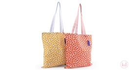 Cotton roll-bag Limon y Naranja