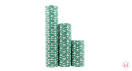 Wrapping Paper Jessica Nielsen Giraffe Leaf green