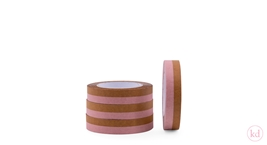 Paper Tape - duo tones - caramel / lemonade pink
