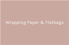 Wrapping Paper & Flatbags