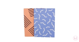 Notebooks Noortje de Keijzer Stripes Confetti + Waves Confetti