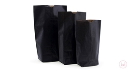 Cross Bottom Bags Black