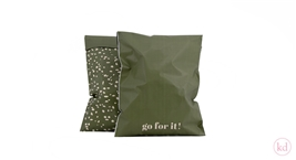 Verzendzakken Terrazzo Go for it! Medium Rosemary Green