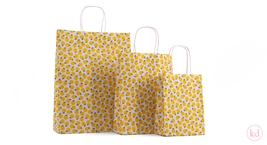 Paperbag twisted handle Limon