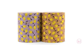 Paper Tape Sticky Lemon - Lemon Lavender + Clay