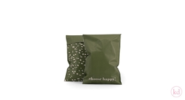 Verzendzakken Terrazzo Choose happy! Small Rosemary Green