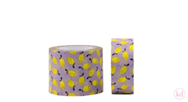 Paper Tape Sticky Lemon - Lemon Lavender