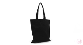Cotton bag flat Black