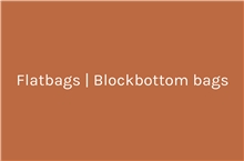 Flatbags | Blockbottom bags