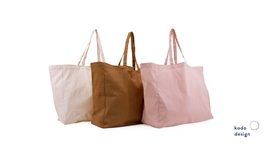 Cotton Shopper Pink Tones