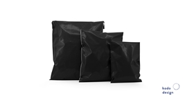 Shipping bags black