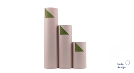 Wrapping Paper Duo Blush/Olive