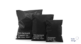 Shipping Bags Black Quote