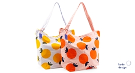 Cotton Bag Limon y Naranja