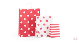 Paperbag Toptwist Red