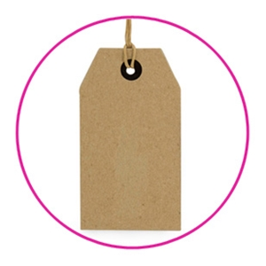 kraft paper tags Brown kraft labels are used by crafters all over the country to add a special touch our brown kraft labels have the look and feel of a brown paper grocery.