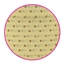Masking Tape Mini Dots Creme / Gold