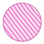 Tissue Paper Stripes Neon Pink / White