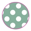 Tissue Paper Dots Mint