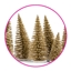 Gift Decoration Pine Tree Gold