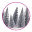 Gift Decoration Pine Tree Silver