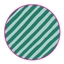 Flatbags Studio Ditte Diagonal Stripes