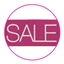 Sale tags Hot Pink