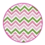 Masking tape Waves Baby pink / Green