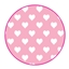Tissue Paper Heart Baby Pink