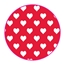Tissue Paper Heart Red